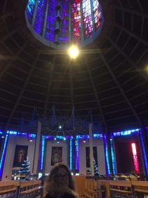 Me in Liverpool Metropolitan Cathedral