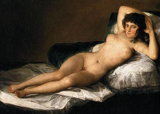 The Nude Maja by Francisco de Goya