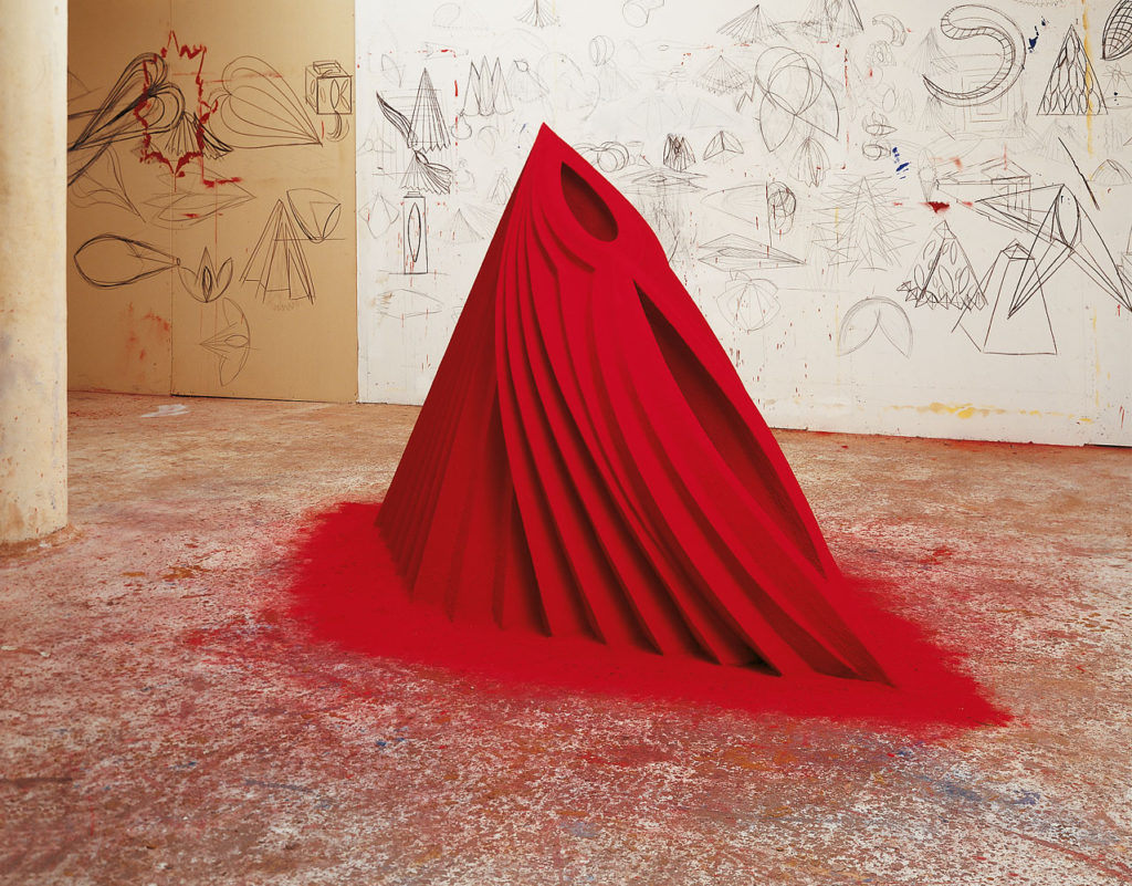 Mother as Mountain (1984) by Anish Kapoor