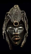 Mask from the Dan people of Ivory Coast or Liberia