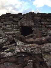 The broch at Stoer.© D Gould.
