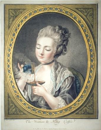Woman Taking Coffee — Louis Marin Bonnet