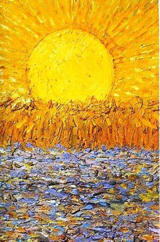 The Sun — Van Gogh