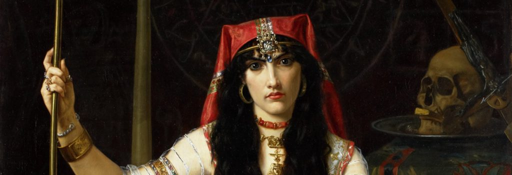 Detail from The Sorceress by Georges Merle