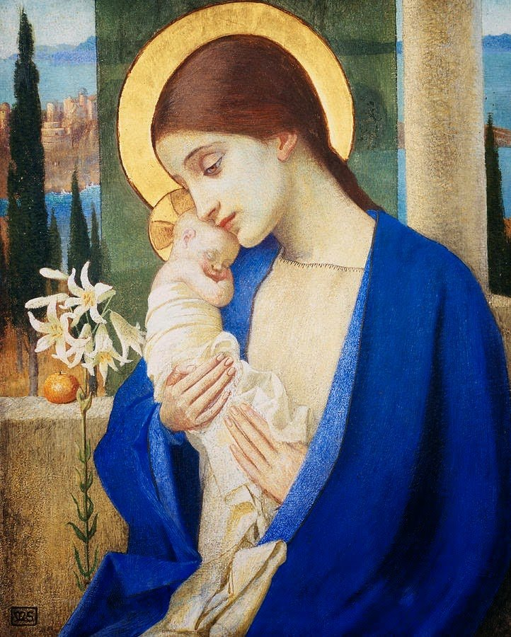 Madonna and Child — Marianne Stokes