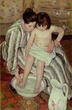 Toilette — Mary Cassatt