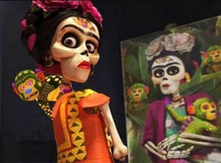 Frida Kahlo in the land of the dead in Disney's latest offering Coco.
