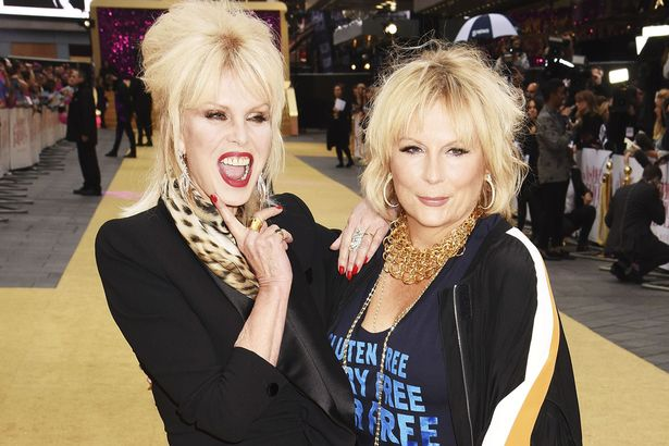 That fabulous double act. Joanna Lumley and Jennifer Saunders share Venus in Gemini