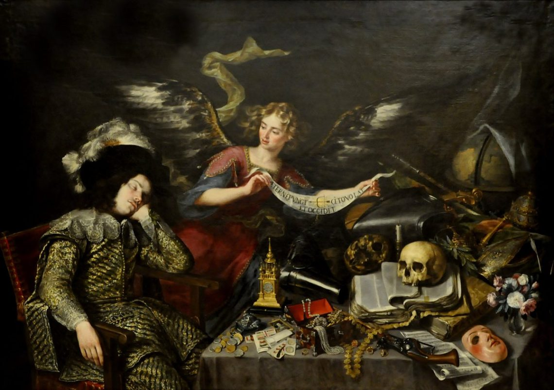 The Knight's Dream — Antonio de Pereda