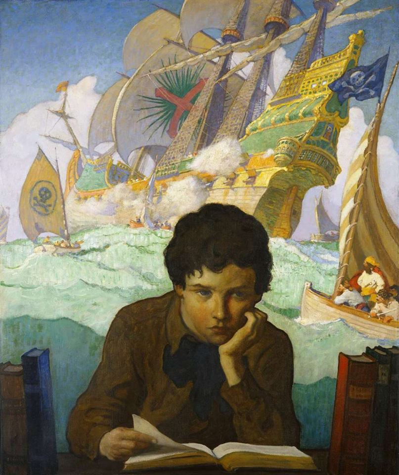 The Storybook — N.C. Wyeth