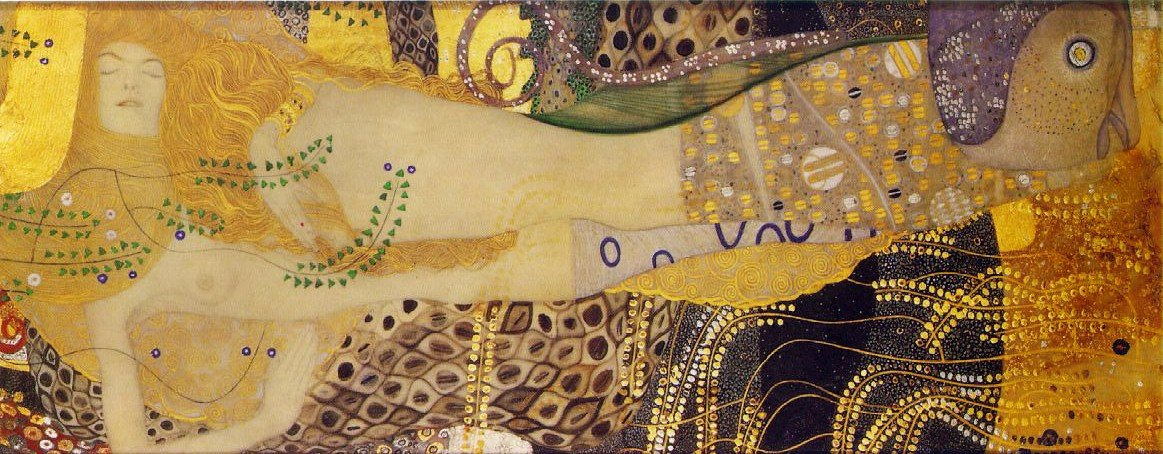 Water Serpents — Gustav Klimt