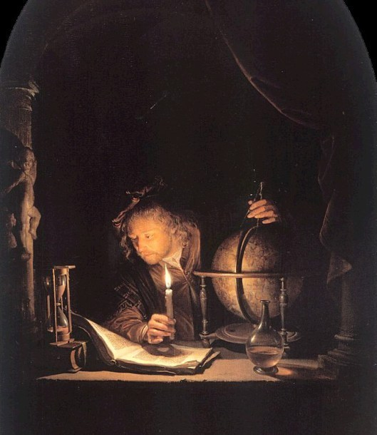 The Astronomer by Gerrit Dou