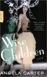 Wise Children by Angela Carter features some very memorable twins. It's been turned into a show too.