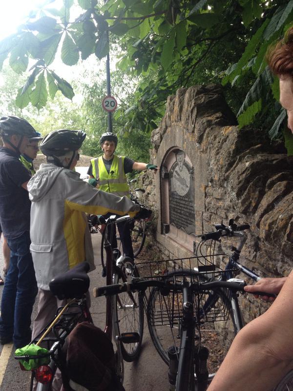 World War One bike ride, 17 June 2015 (4)