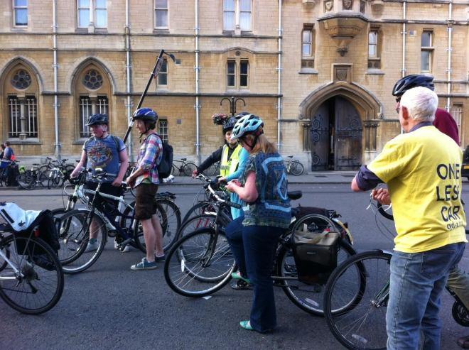 Cyclox Traffic-light-free ride, 15 June 2015