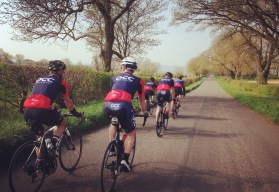 Early spring club ride