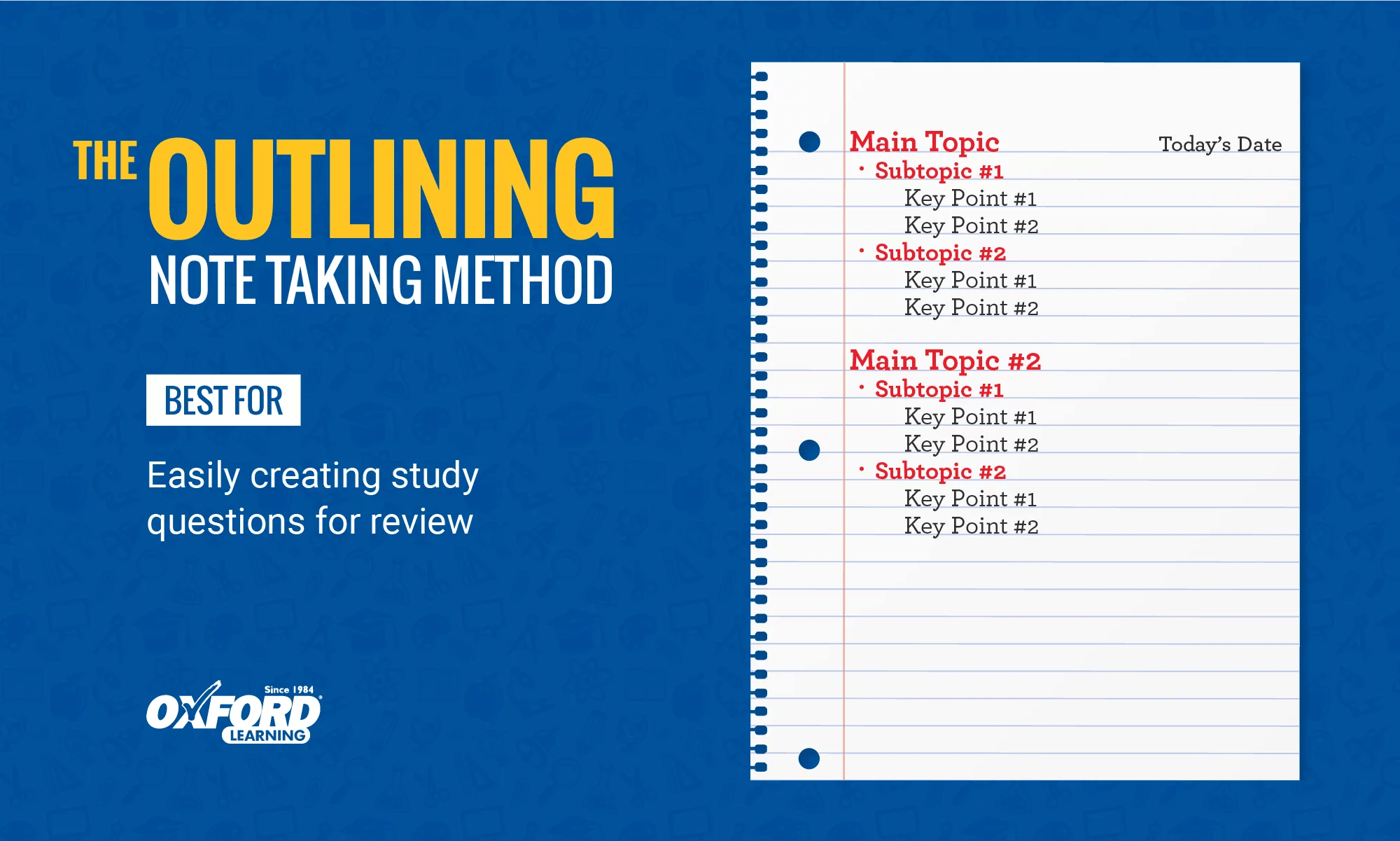 How To Take Study Notes 5 Effective Note Taking Methods