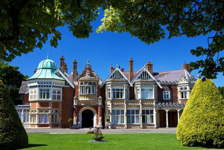 Bletchley Park near Oxford