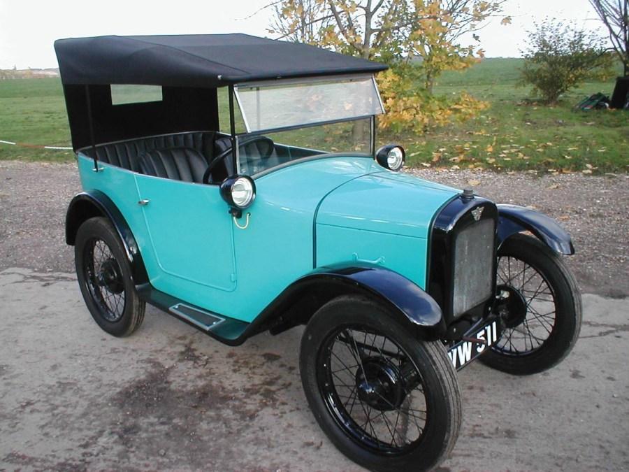 1928 Austin Seven Chummy Restoration