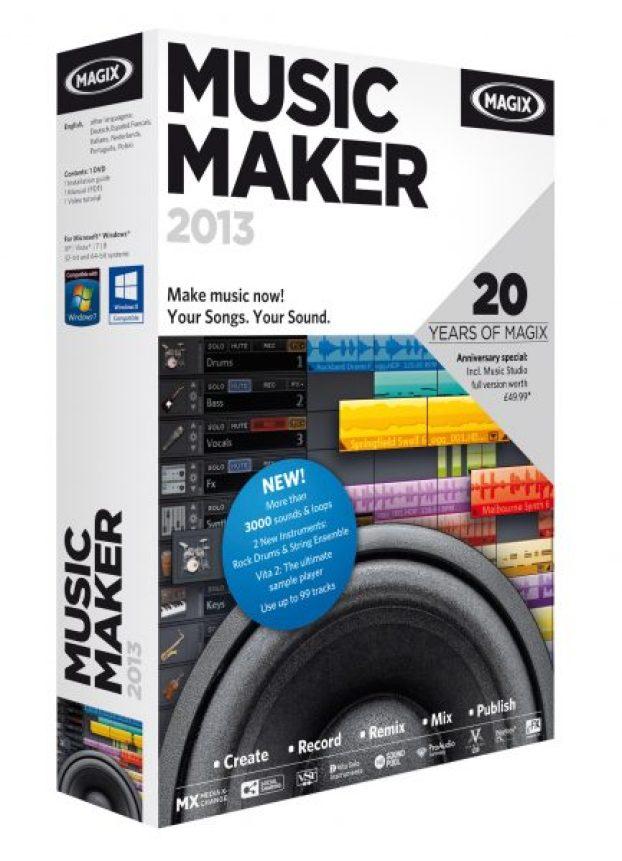 Music Maker 2013