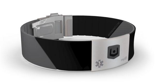 8 Pcs ID Safety Wristbands Kids Identification Bracelets Waterproof Safety ID UK