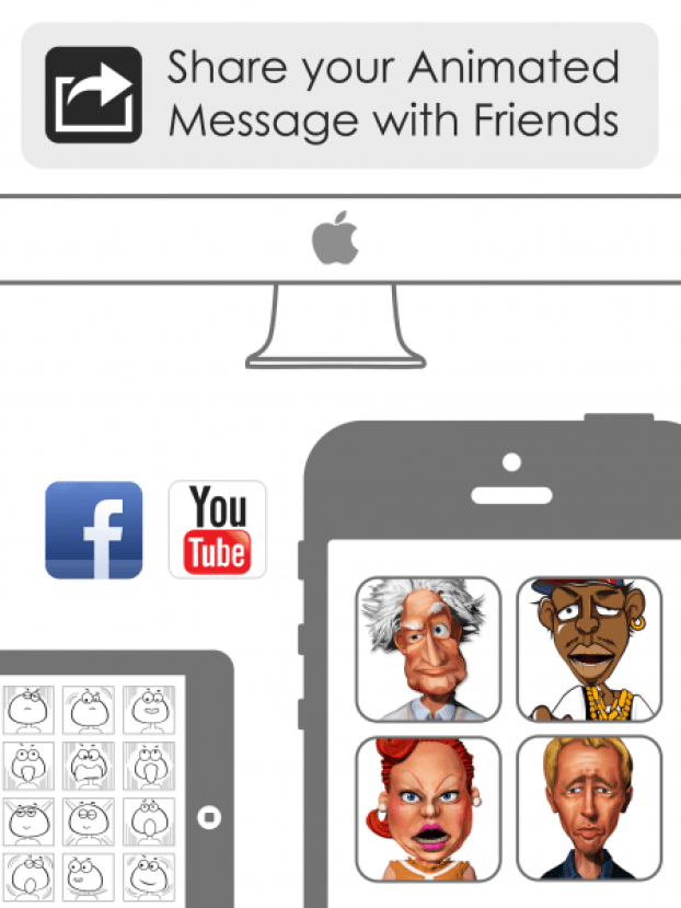 Crazy Talk - share your animated message with friends
