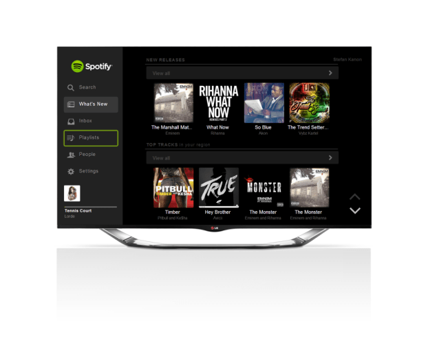 LG Smart TV_ Spotify Service_Updated