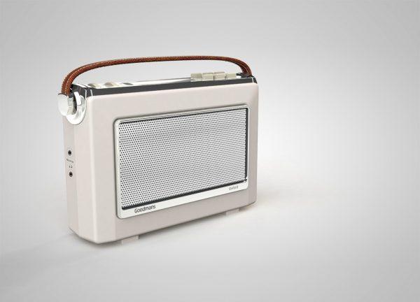 Kitchen Radio Cream Vintage