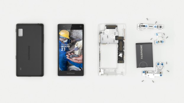 Fairphone 2 disassembled