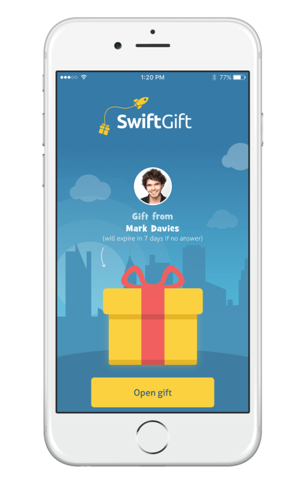 SwiftGift Received