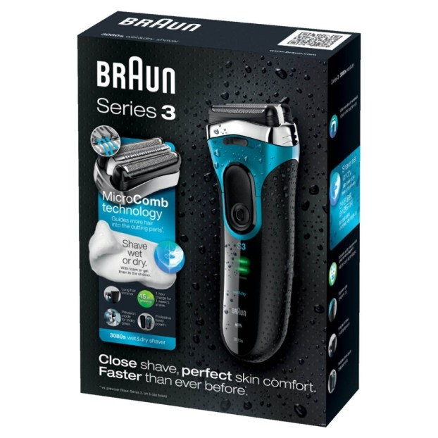 braun 3 3080s box