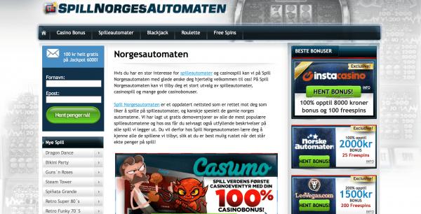 Spill Norgesautomaten