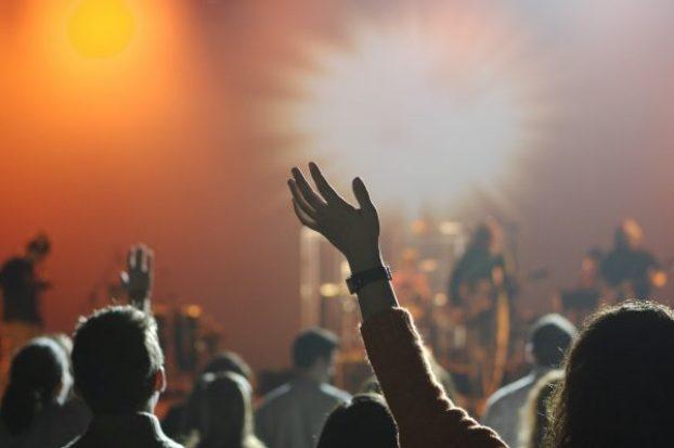audience music festival