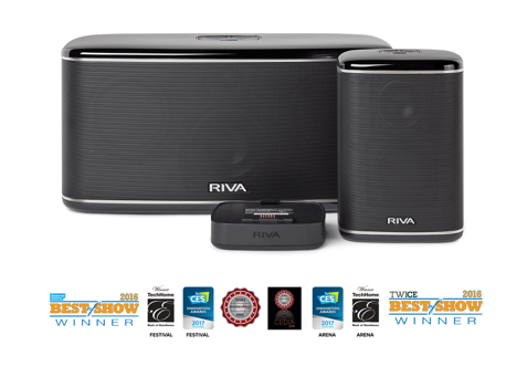 riva wand series speakers