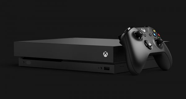 Xbox One X first 4K game console