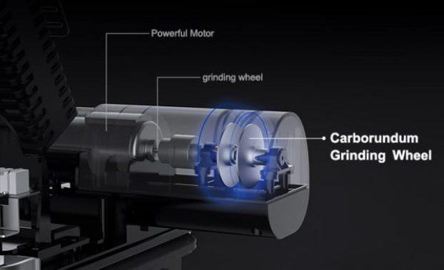 mliter multifunctioning knife block steriliser sharpener indiegogo crowdfunding
