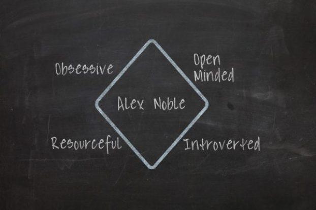 character diamond creating characters photoshop blackboard chalk personality