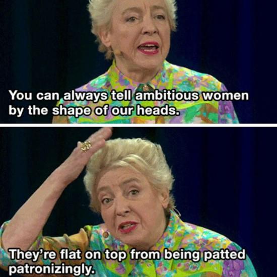 Dame Stephanie at Ted Talks