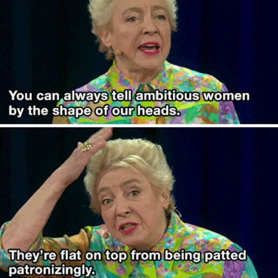 Dame Stephanie at Ted Talks
