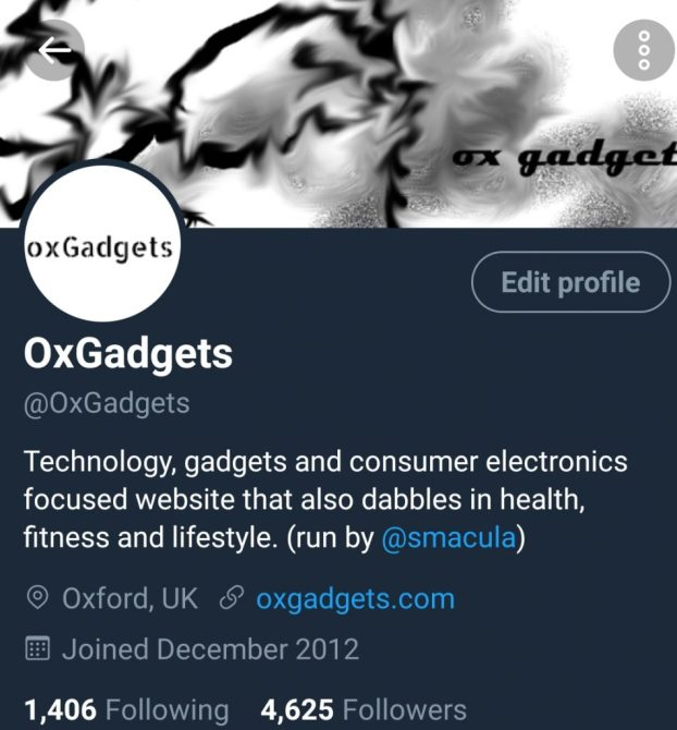 dark mode - twitter - oxgadgets