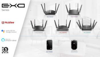 D-Link announces the launch of Smart Mesh Wi-Fi Routers