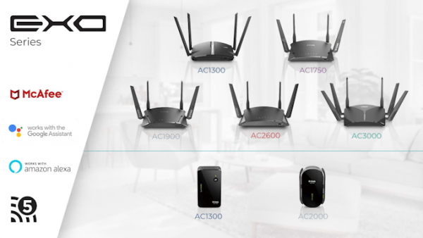 D-link Enhances Exo Series Routers With Smart Mesh Wi-fi