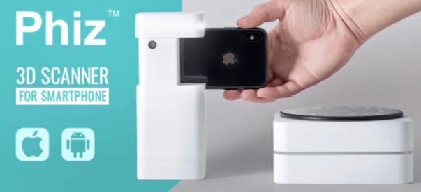 Phiz 3D scanner