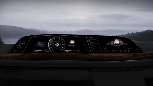P-OLED cockpit