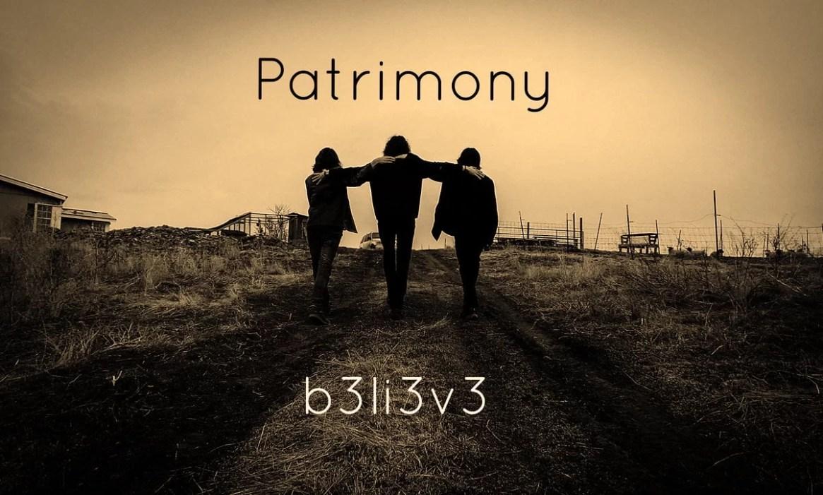 Patrimony b3li3v3