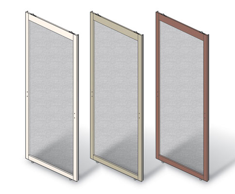 window door screen parts oxinger