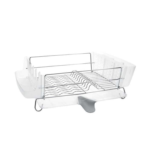 folding stainless steel dish rack