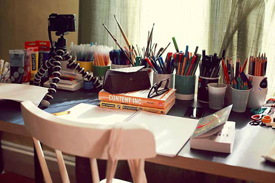 Atelier | OXOlaterre Illustrateur