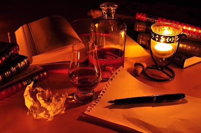 Image écrivain privé, écrivain fantôme