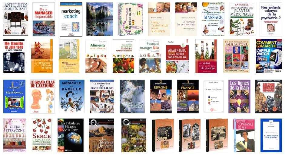 Exemples de livres écrits ou suivis par Pierre Vican